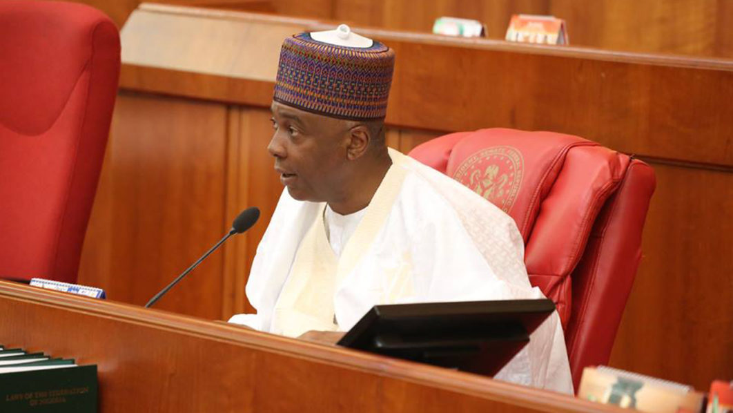 Saraki: FG's appeal against CCT ruling does not bother me