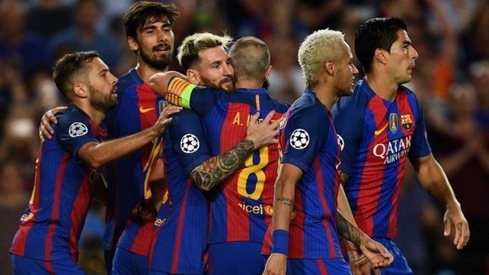 Barca confirm record earnings of 708m euros