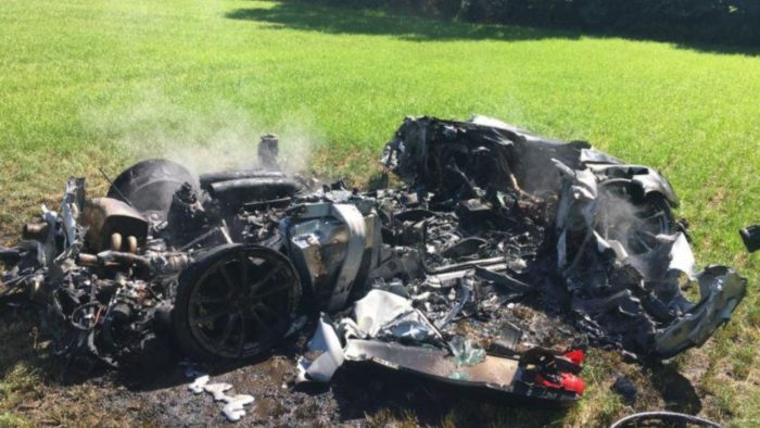 Man crashes $260k Ferrari one hour after purchase