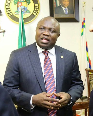 "Lagos APC splits on as Party chairman Ajomale cries out, ""Ambode doesn't pick my calls!"""