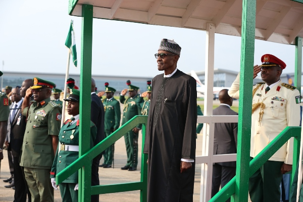 Buhari to National Assembly: I am back in office