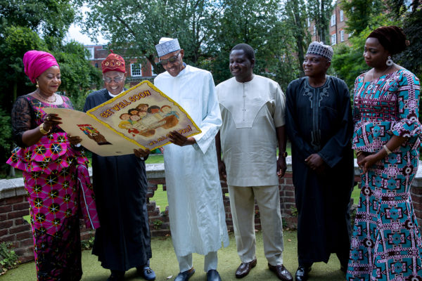 Upbeat Buhari says he's OK, home soon