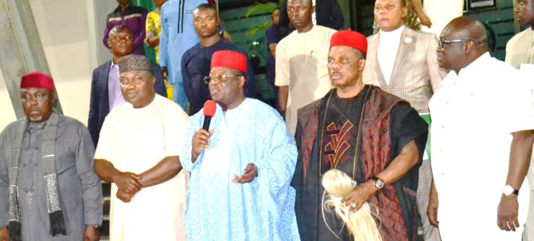 BIAFRA: What South-east Governors discussed with Nnamdi Kanu