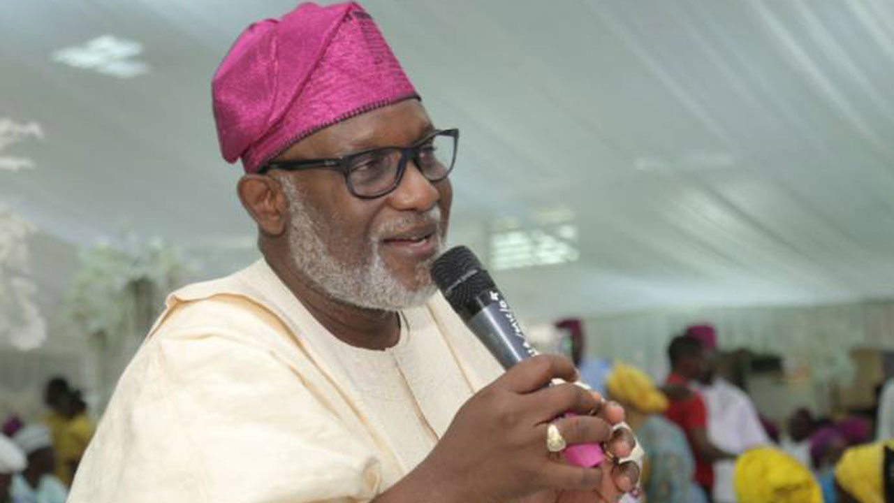 Mimiko left over N220bn debt – Akeredolu