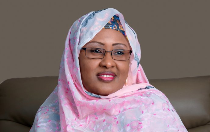 Joy of a Mother: Aisha Buhari thanks God as son, Yusuf, returns from medical trip