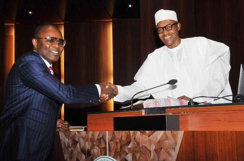 NNPC Fraud: Buhari, Kachikwu meeting ends