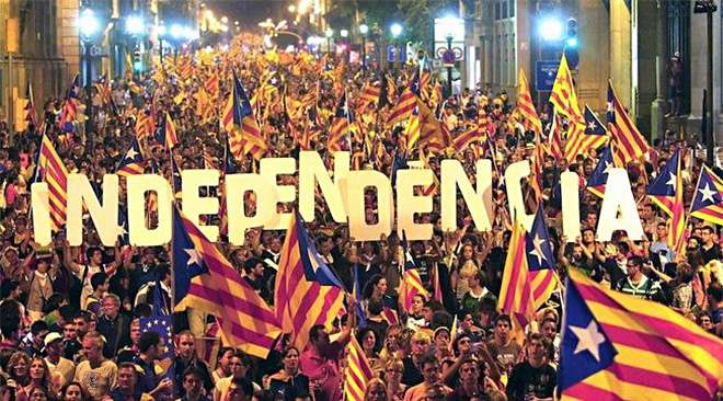 Independence: Catalonia's declaration halted as Spain shuts Catalan Parliament