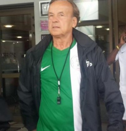 Rohr happy working with Super Eagles