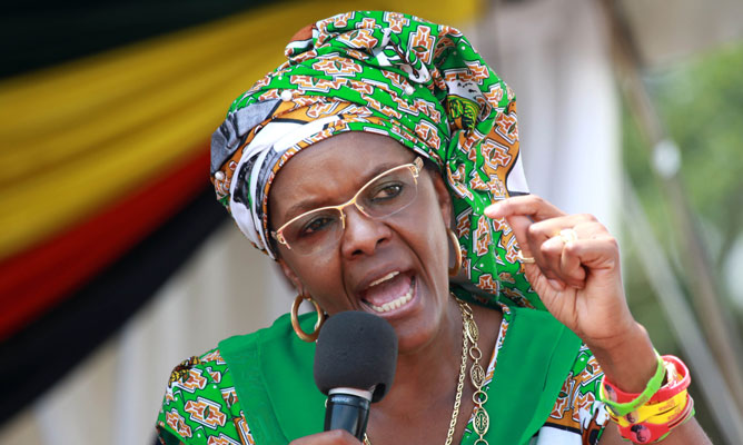 Mugabe's wife set to become 2nd female vice president