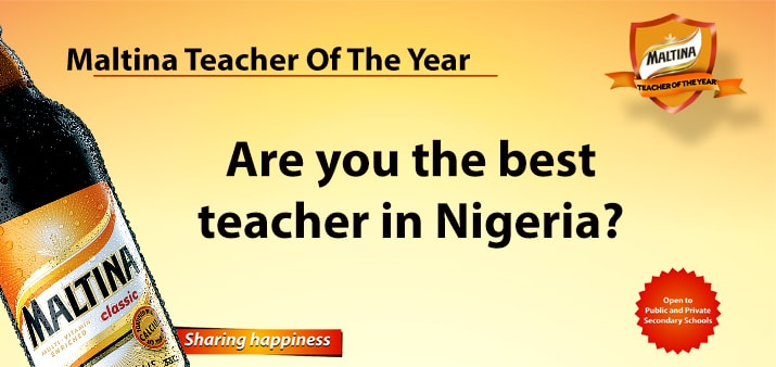 Maltina Teacher of The Year 2017 Emerges October 12