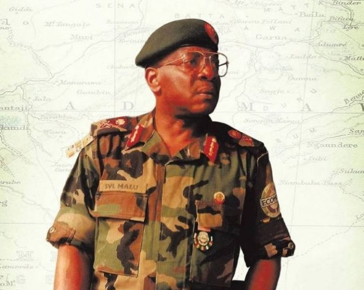 Breaking:Former Army Chief, Victor Malu is Dead