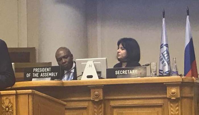 Russia: Nigeria Senate President presides over session at 137th IPU