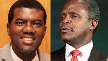 Reno Omokri to VP Osinbajo: Repent and stop lying to Nigerians
