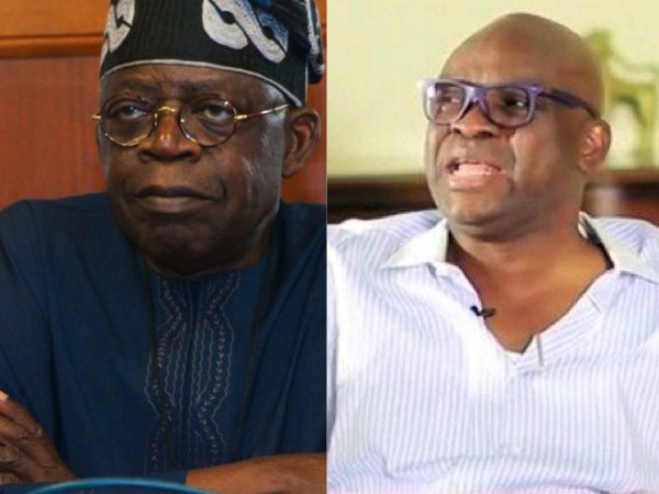 Fayose commiserates with Tinubu over son's death