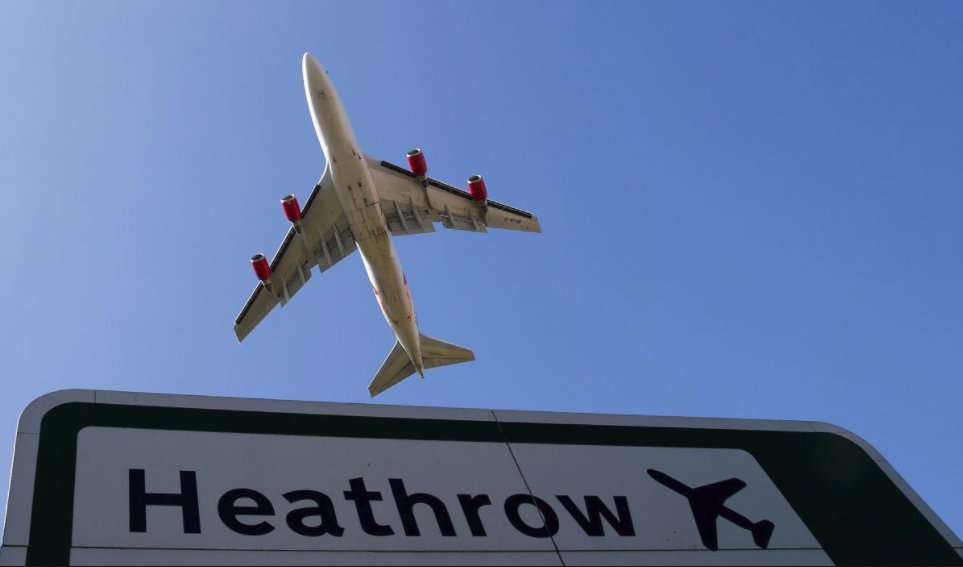 Heathrow Airport security staff nabbed with cocaine
