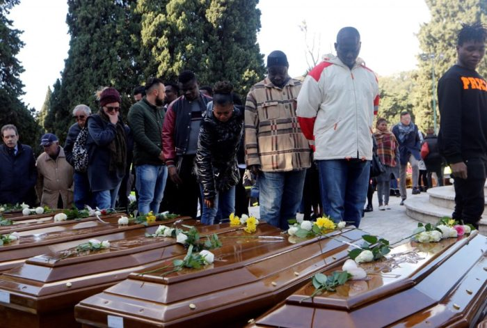 Mediterranean Calamity! Italy buries 26 Nigerian girls