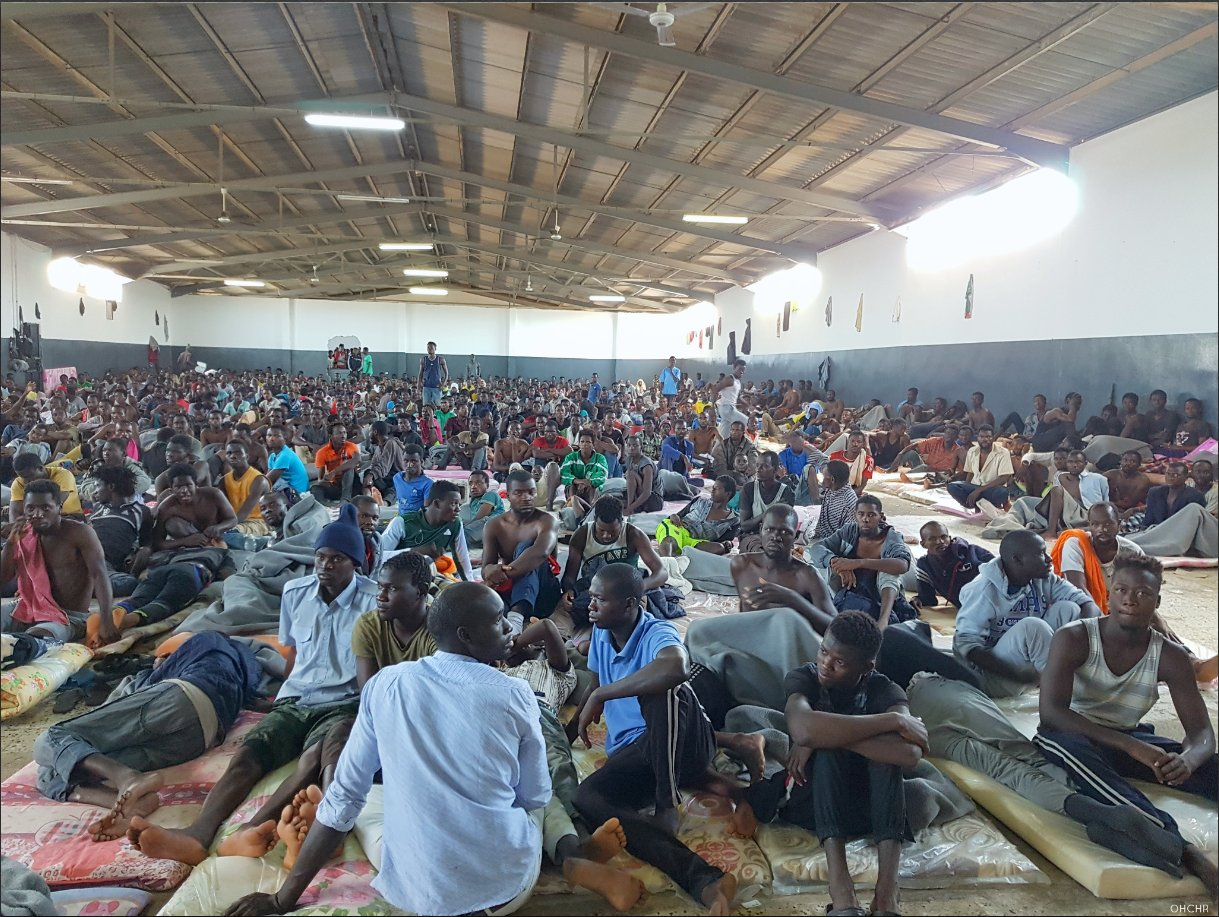 UN considers sanctions to fight Libya slave trade