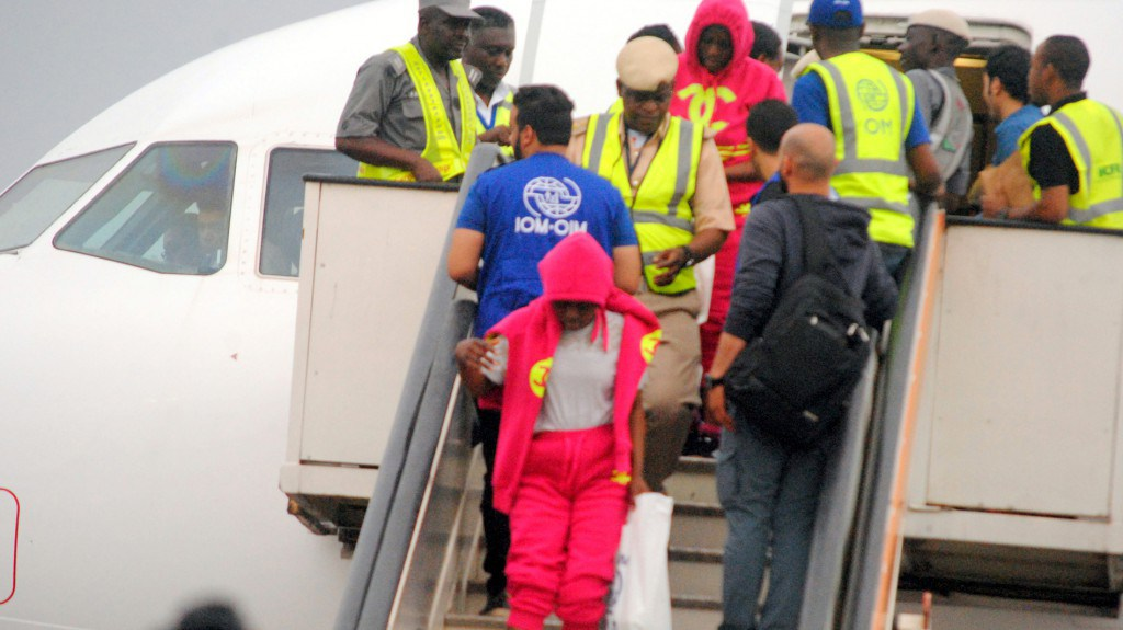 Over 250 more Nigerians return from Libya Tuesday; 407 in eight days