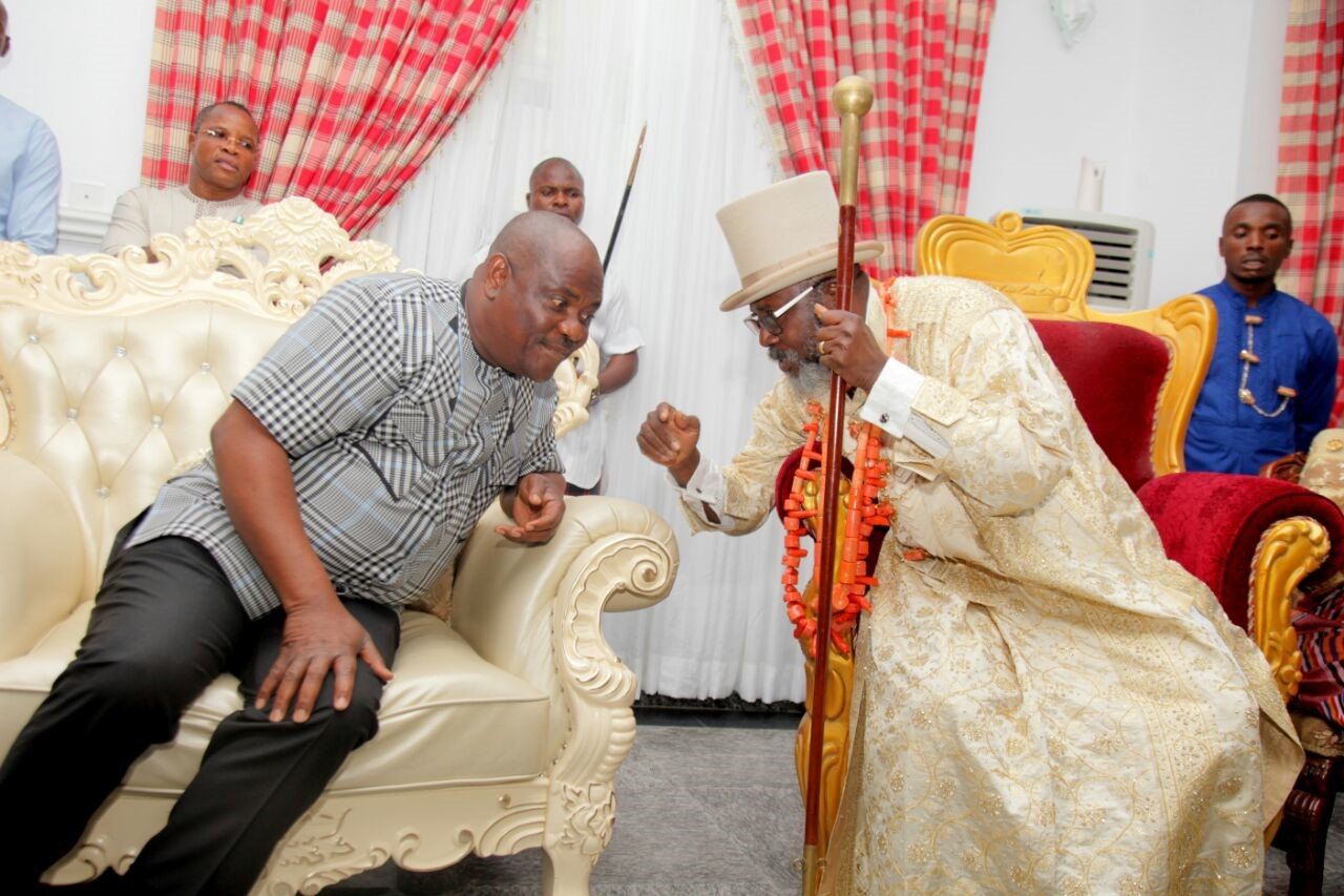 Wike to King Bob-Manuel; You remain Amayanabo of Abonema