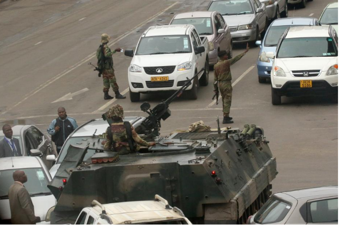 Military takeover in Zimbabwe