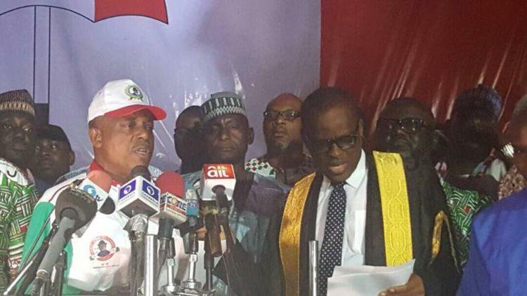 Victory Speech: Secondus vows to end APC rule, serves Buhari APC quit notice