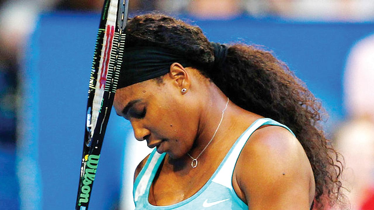 Serena Williams lost on her comeback