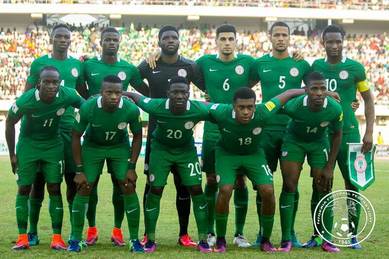 FIFA 2018 World Cup: Nigeria's Super Eagles lose three points in qualifier