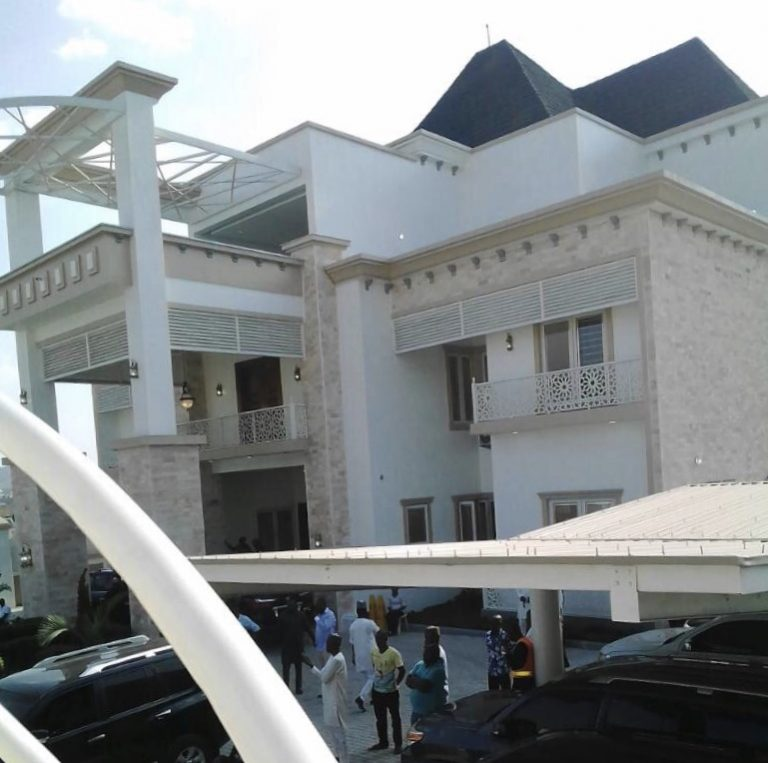 Gov. Yahaya Mansion