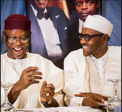 I'm being persecuted because of my loyalty to Buhari -Oyegun