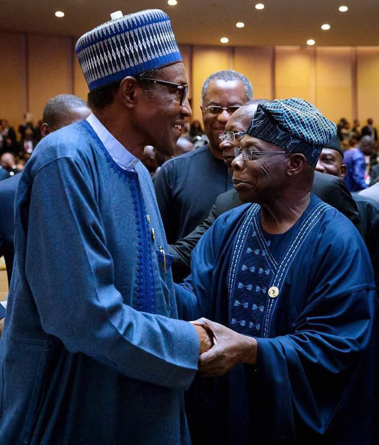 Obasanjo meets Buhari in Ethiopia days after 'do not seek re-election' statement