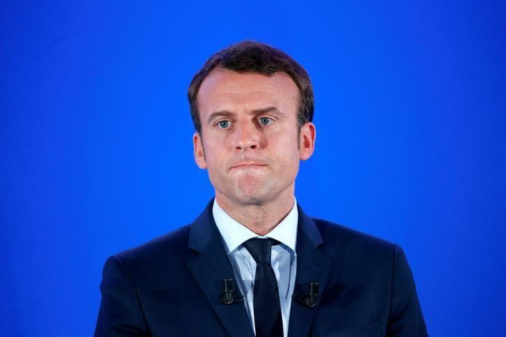 Youthful Macron 'completely changed' France's image, says tech billionaire