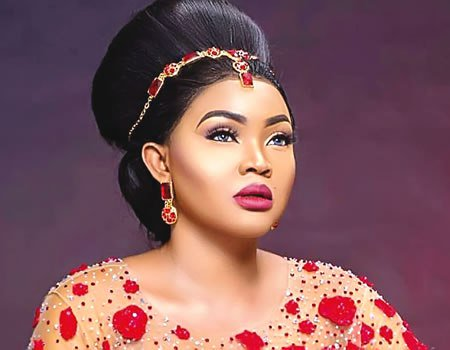 True Confession: Mercy Aigbe admits hiring wedding dress for 40th birthday photo shoot