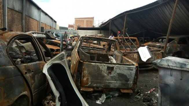 South Africans strike again; destroy Nigerian shops, houses in fresh attack