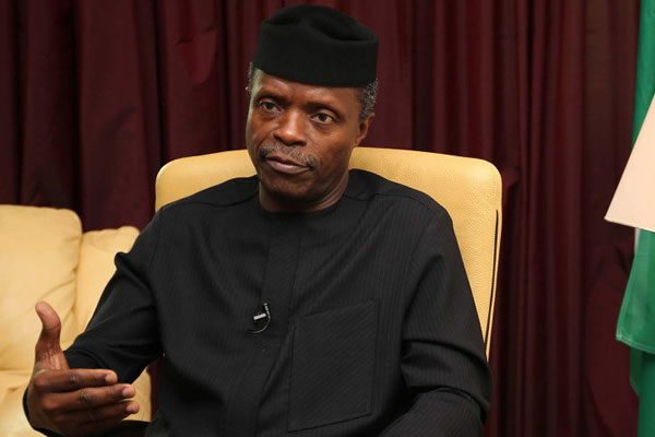 Osinbajo off to Oxford University Lecture to speak on Nigeria's Human Capital Development Investments