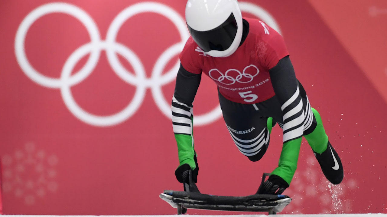 Winter Olympics: Nigeria's first female skeleton athlete, Adeagbo ends race in last place