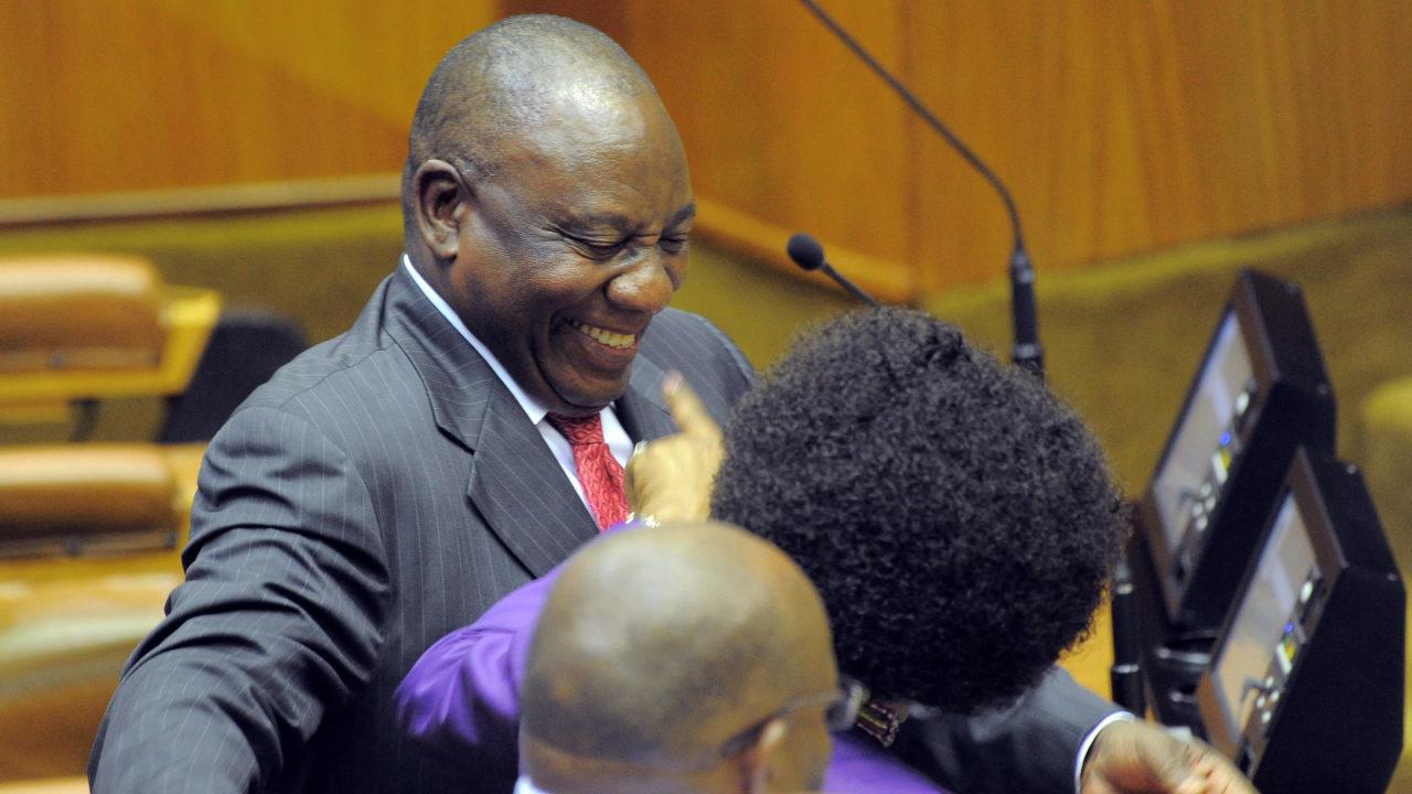 Ramaphosa succeeds Zuma as South African president