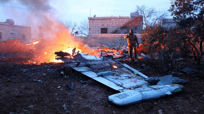 Syrian rebels shoot down Russian plane, kill pilot