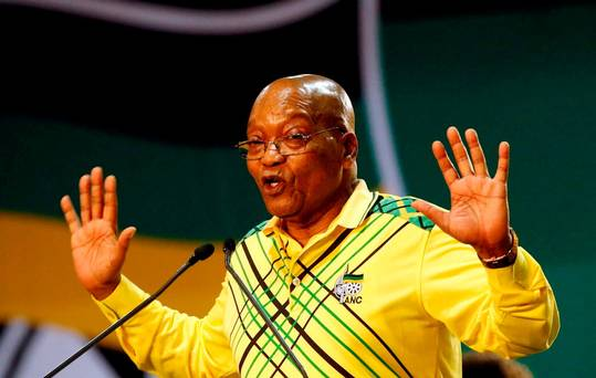 Breaking: Jacob Zuma resigns as South Africa President