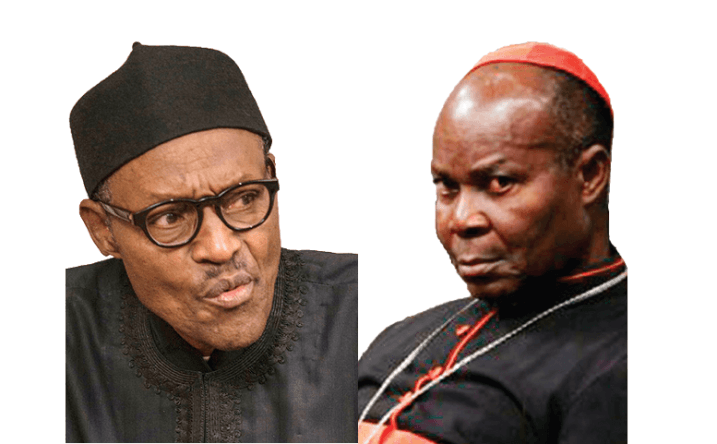 Okogie declares Nigerians not protected under Buhari's watch, insists President should resign