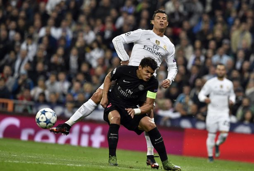 Ronaldo scores twice in Real Madrid emphatic win against PSG