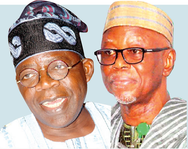 Alleged Sabotage: Oyegun ignores Tinubu's allegations, replies with 'you have my fullest support'