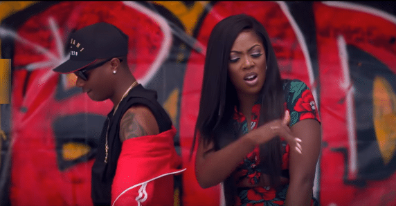Tiwa Savage reveals why Wizkid is special to her