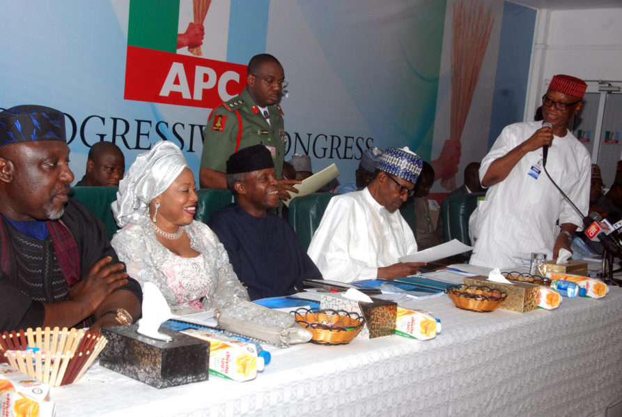 Buhari openly kick against APC chiefs' tenure extension