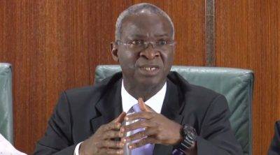 Former Lagos state governor and the Minister of Works and Housing, Babatunde Fashola, SAN, has disclaimed another fake Facebook account set up in his name alongside his picture warning members of the public against being deceived by dupes and scammers./newsheadline247
