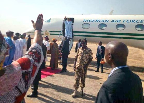 Buhari begins tours of troubled states