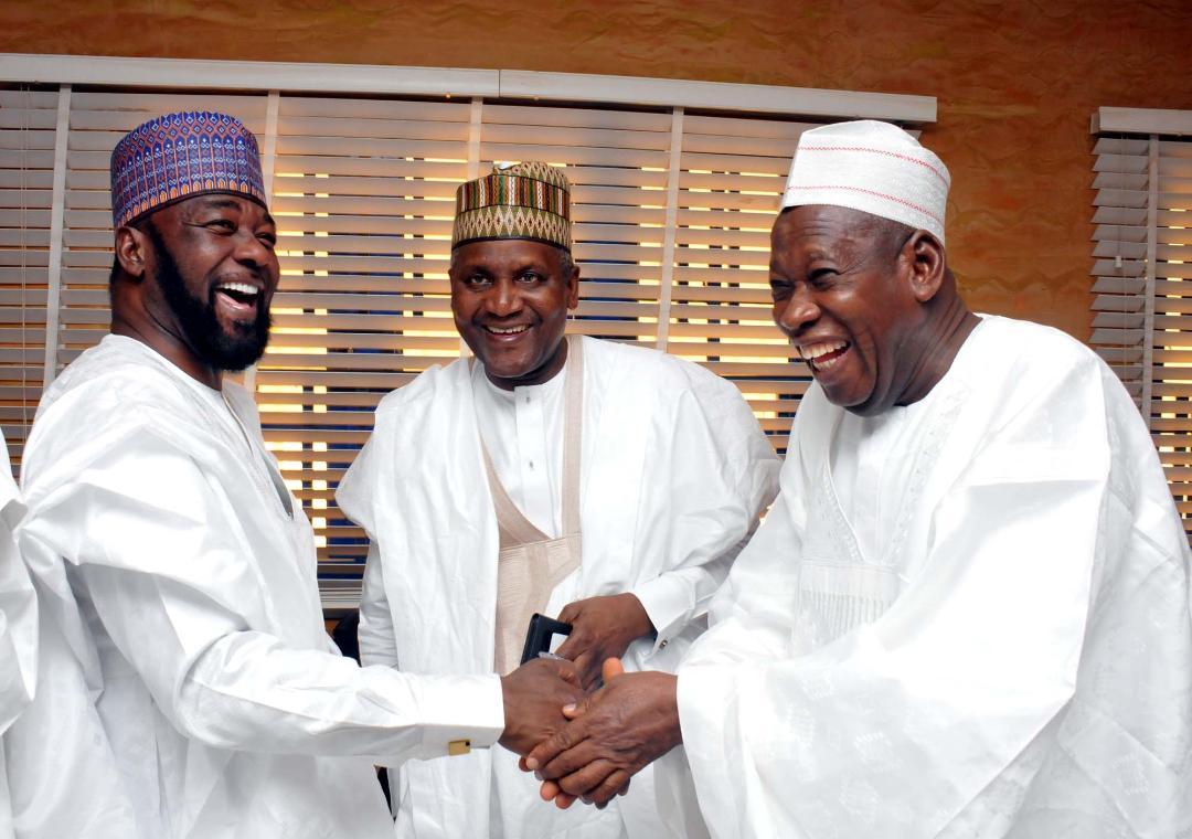 Photos: Buhari, Saraki, Ooni, Govs attend wedding of Fatima Dangote