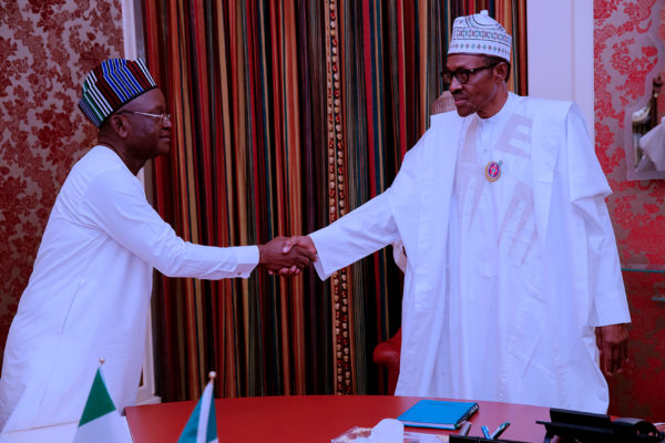 Killer Herders: Ortom meets Buhari on 175,000 displaced persons