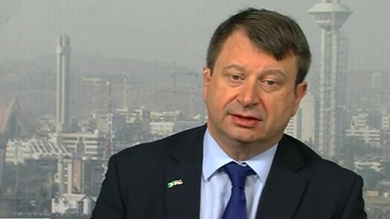 UK not against Buhari's reelection bid – Paul Arkwright