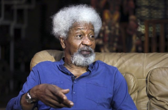 Soyinka slams Buhari again; Stop shedding 'unjust' tears, deal with 'bloodthirsty terrorists'!