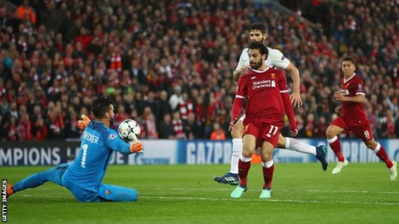 VIDEO: Salah on rampage as Liverpool smash five past Roma
